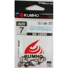 Крючки KUMHO / 4X - Iseama / KH – 10085 / №8 / уп. 10шт