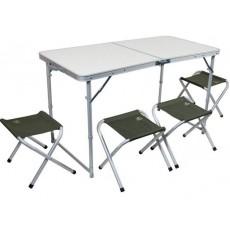 Стол 4 стула / 60х120см