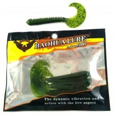 Съедобная резина / BAOHUALURE / SL105 / 80mm / BG / уп. 4шт
