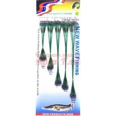 Поводки набор New way fishing / медь / уп. 100шт