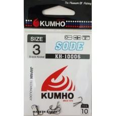 Крючки KUMHO / SODE / KH – 10006 / №6 / уп. 10шт